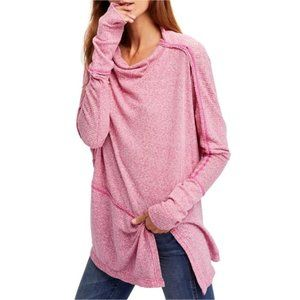 Free People Londontown Thermal Ribbed Knit Tee